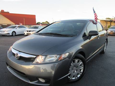 2010 Honda Civic for sale at American Financial Cars in Orlando FL