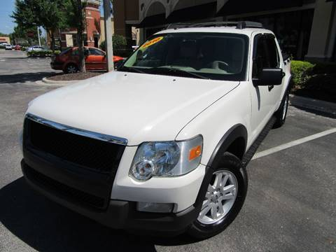 2010 Ford Explorer Sport Trac for sale at American Financial Cars in Orlando FL
