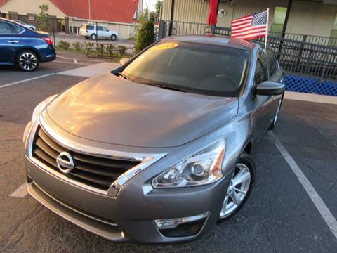 2014 Nissan Altima for sale at American Financial Cars in Orlando FL