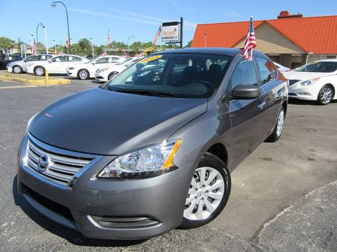 2015 Nissan Sentra for sale at American Financial Cars in Orlando FL