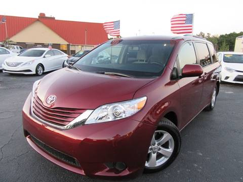 2017 Toyota Sienna for sale at American Financial Cars in Orlando FL