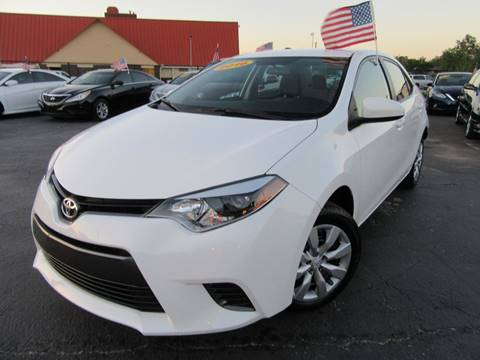 2016 Toyota Corolla for sale at American Financial Cars in Orlando FL