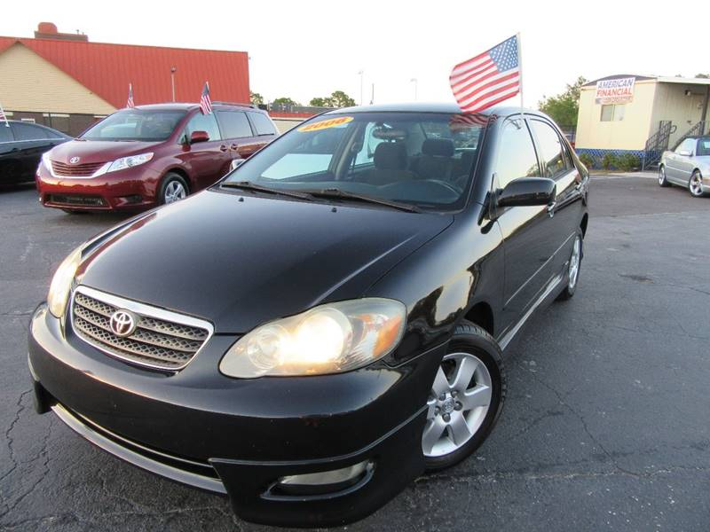 2006 toyota corolla s 4dr sedan w manual in orlando fl american rh americanfinancialcars net 2006 toyota corolla s manual transmission 2006 toyota corolla ce owner's manual