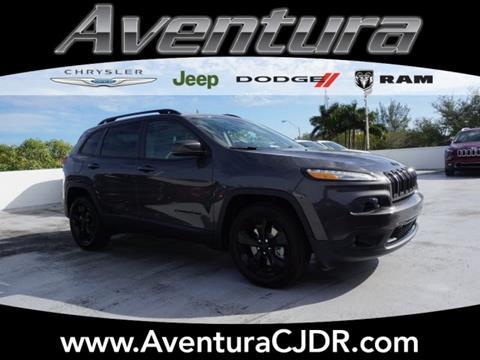 2018 Jeep Cherokee for sale in North Miami Beach, FL