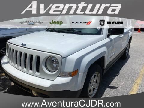 2016 Jeep Patriot Sport for sale at Aventura Chrysler Dodge Jeep Ram in North Miami Beach FL
