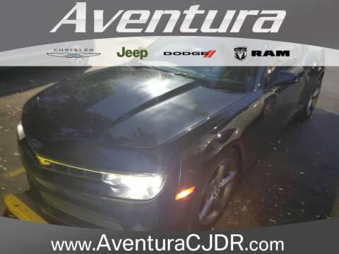 2014 Chevrolet Camaro LT for sale at Aventura Chrysler Dodge Jeep Ram in North Miami Beach FL