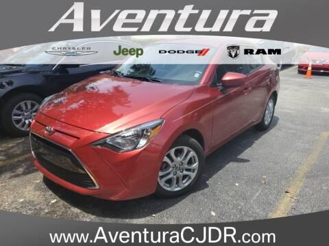 2017 Toyota Yaris iA for sale at Aventura Chrysler Dodge Jeep Ram in North Miami Beach FL