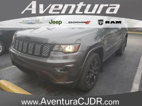 2017 Jeep Grand Cherokee Altitude for sale at Aventura Chrysler Dodge Jeep Ram in North Miami Beach FL