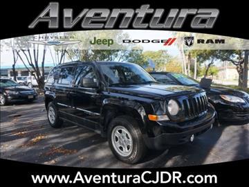 2012 Jeep Patriot for sale in North Miami Beach, FL