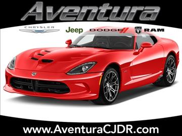 2017 Dodge Viper for sale in North Miami Beach, FL
