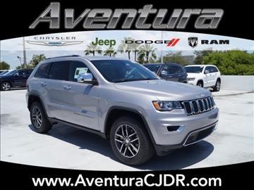 2017 Jeep Grand Cherokee for sale in North Miami Beach, FL