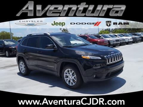 2017 Jeep Cherokee for sale in North Miami Beach, FL