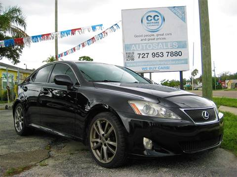 2008 Lexus IS 250 for sale in Clearwater, FL