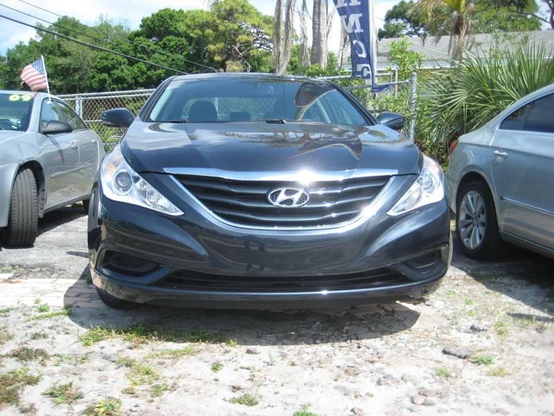 2013 Hyundai Sonata Gls 4dr Sedan In Clearwater Fl Cc Motors