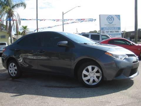 2014 Toyota Corolla for sale in Clearwater, FL