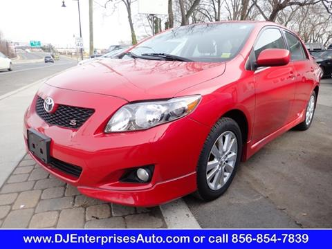 2010 toyota corolla for sale in new jersey. Black Bedroom Furniture Sets. Home Design Ideas