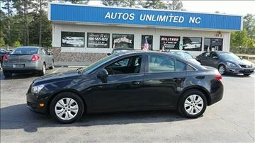 2014 Chevrolet Cruze for sale in Fayetteville, NC