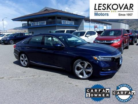 2018 Honda Accord for sale in Butte, MT