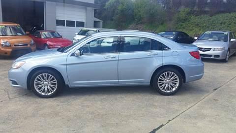2012 Chrysler 200 for sale in Bristol, VA