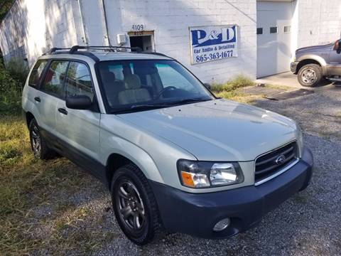 2005 Subaru Forester for sale in Knoxville, TN