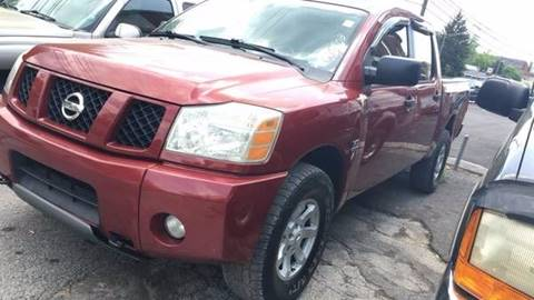 2004 Nissan Titan for sale at North Knox Auto LLC in Knoxville TN