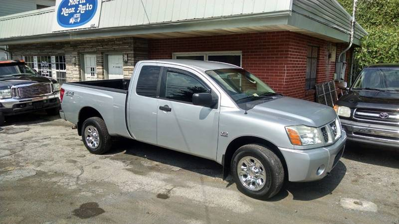 2004 Nissan Titan Xe In Knoxville Tn North Knox Auto Llc