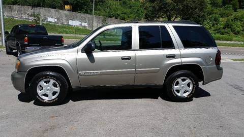 2002 Chevrolet TrailBlazer for sale at North Knox Auto LLC in Knoxville TN