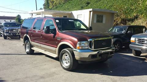 2001 Ford Excursion for sale at North Knox Auto LLC in Knoxville TN