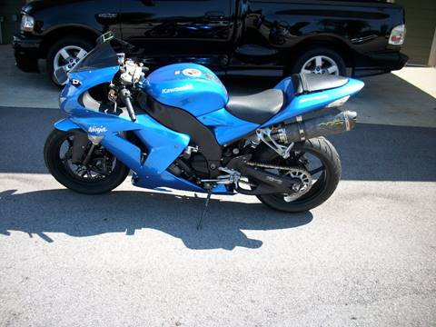 2007 Kawasaki Ninja ZX-10R for sale at Foothills Used Cars LLC in Campobello SC
