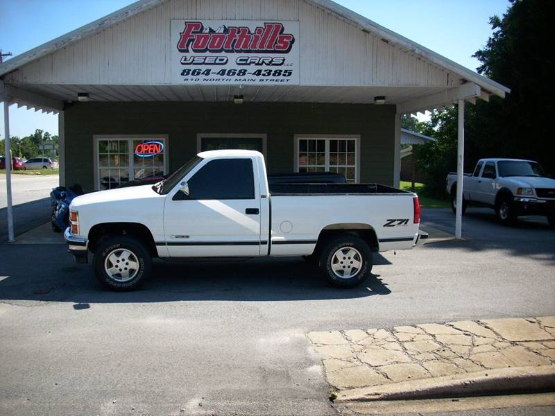 1993 Chevrolet C/K 1500 Series for sale at Foothills Used Cars LLC in Campobello SC