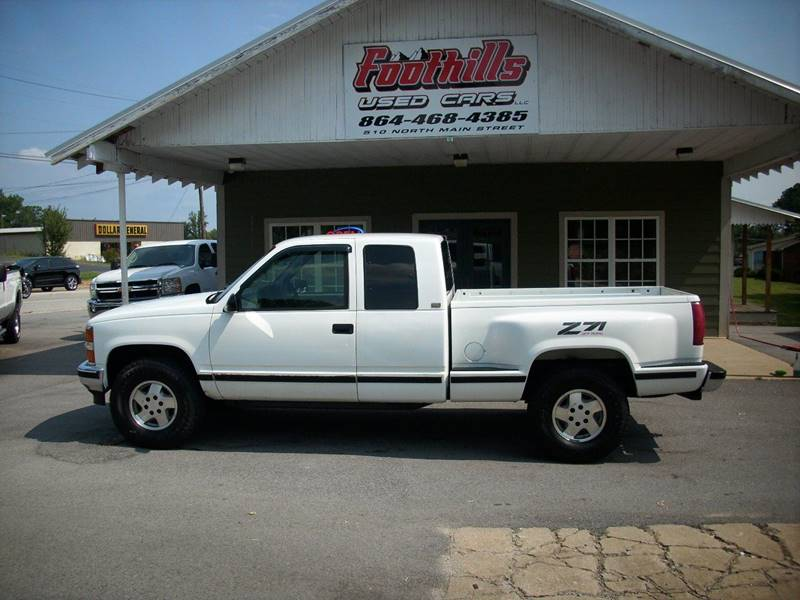 1995 Chevrolet C/K 1500 Series for sale at Foothills Used Cars LLC in Campobello SC