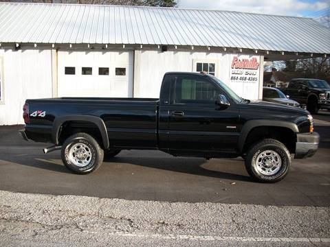 2004 Chevrolet Silverado 2500HD for sale at Foothills Used Cars LLC in Campobello SC