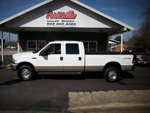 1999 Ford F-350 Super Duty for sale at Foothills Used Cars LLC in Campobello SC