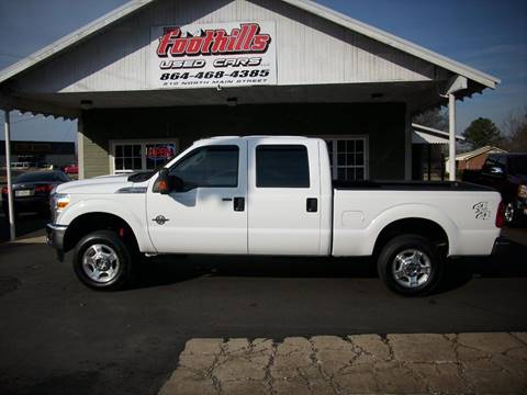 2012 Ford F-250 Super Duty for sale at Foothills Used Cars LLC in Campobello SC