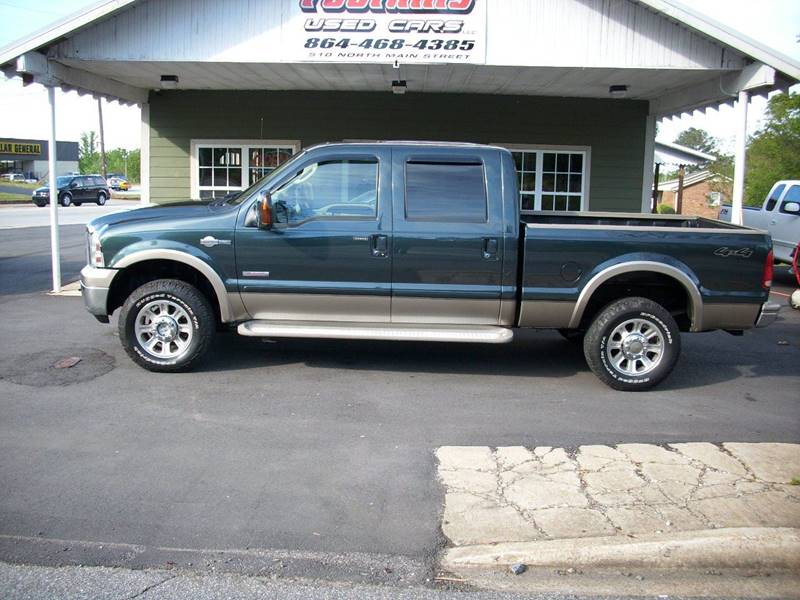 2006 Ford F-250 Super Duty for sale at Foothills Used Cars LLC in Campobello SC