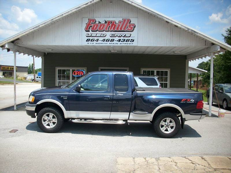 2002 Ford F 150 4dr Supercab Lariat 4wd Flareside Sb In