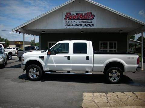 2008 Ford F-250 Super Duty for sale at Foothills Used Cars LLC in Campobello SC