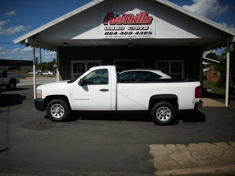 2007 Chevrolet Silverado 1500 for sale at Foothills Used Cars LLC in Campobello SC