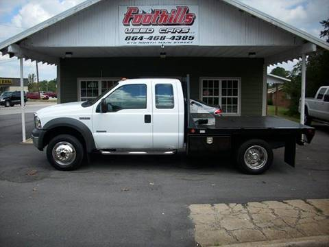 2005 Ford F-550 for sale at Foothills Used Cars LLC in Campobello SC