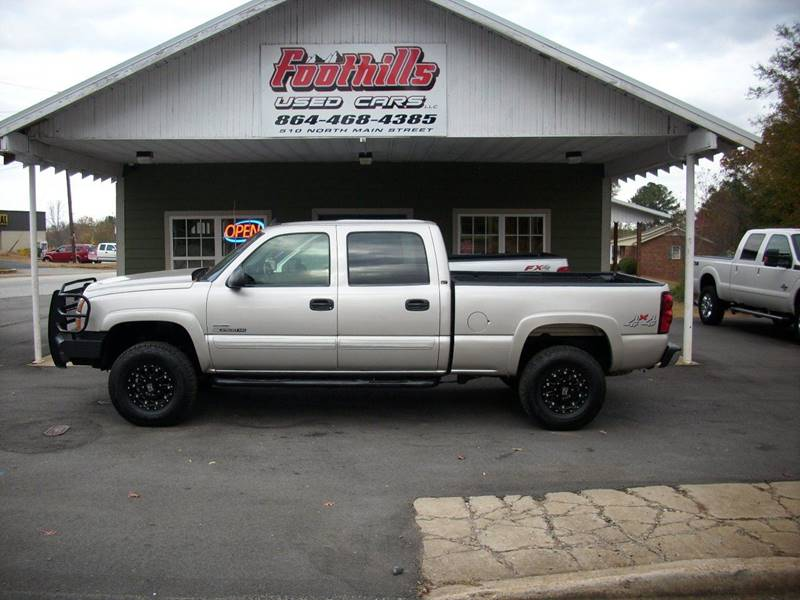 2007 Chevrolet Silverado 2500HD Classic for sale at Foothills Used Cars LLC in Campobello SC