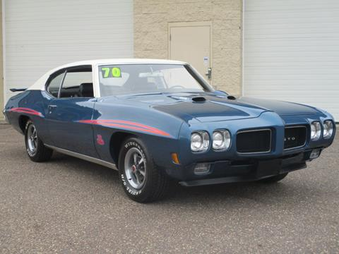 1970 Pontiac Gto For Sale In Minnesota Carsforsale