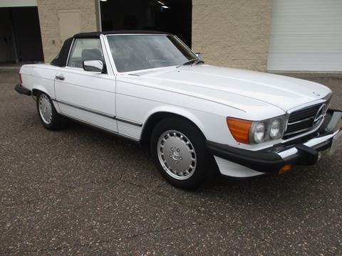 1988 Mercedes-Benz 560-Class for sale at Route 65 Sales & Classics LLC - Classic Cars in Ham Lake MN