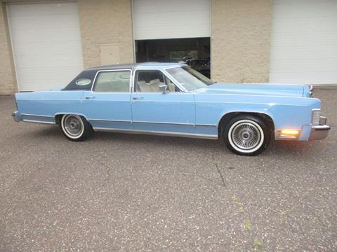 1979 Lincoln Town Car for sale at Route 65 Sales & Classics LLC - Classic Cars in Ham Lake MN