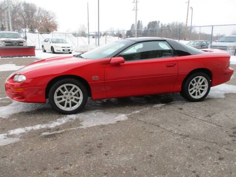 2002 Chevrolet Camaro for sale at Route 65 Sales & Classics LLC in Ham Lake MN