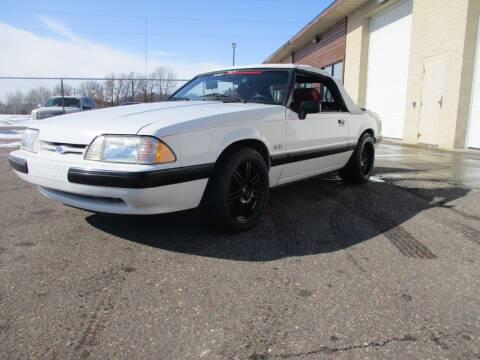 1989 Ford Mustang LX 5.0 for sale at Route 65 Sales & Classics LLC - Classic Cars in Ham Lake MN