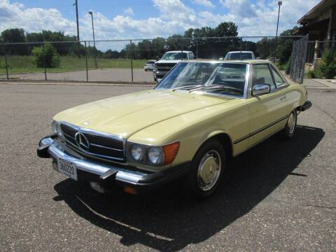 1976 Mercedes-Benz 450 SL for sale at Route 65 Sales & Classics LLC - Classic Cars in Ham Lake MN