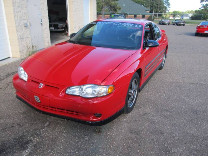 2004 Chevrolet Monte Carlo for sale at Route 65 Sales & Classics LLC in Ham Lake MN
