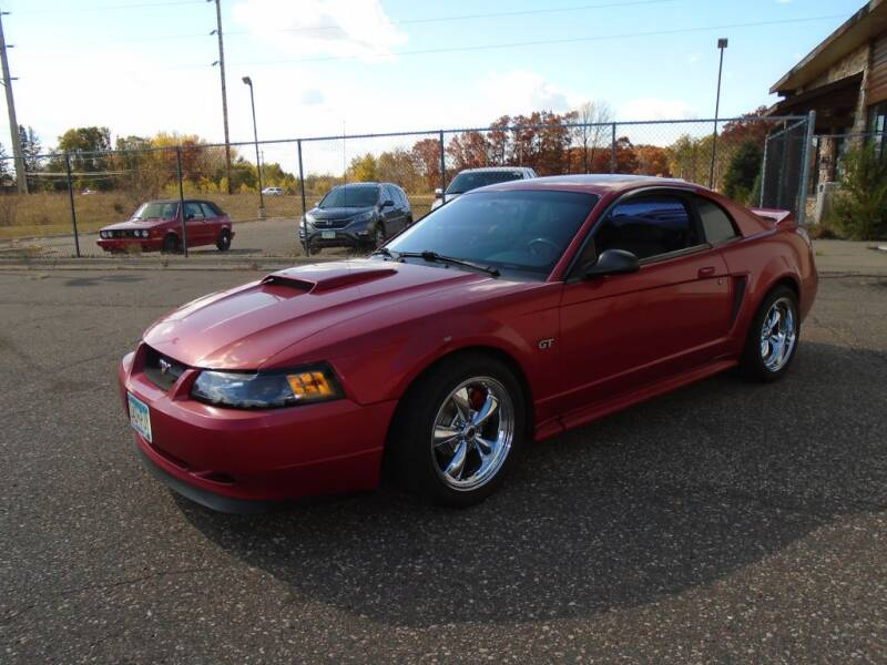 2000 Ford Mustang for sale at Route 65 Sales & Classics LLC in Ham Lake MN