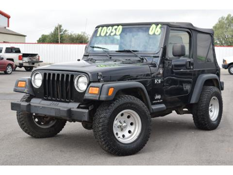 2006 Jeep Wrangler for sale in El Reno, OK