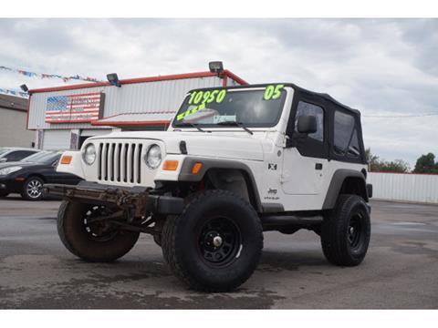 2005 Jeep Wrangler for sale in El Reno, OK